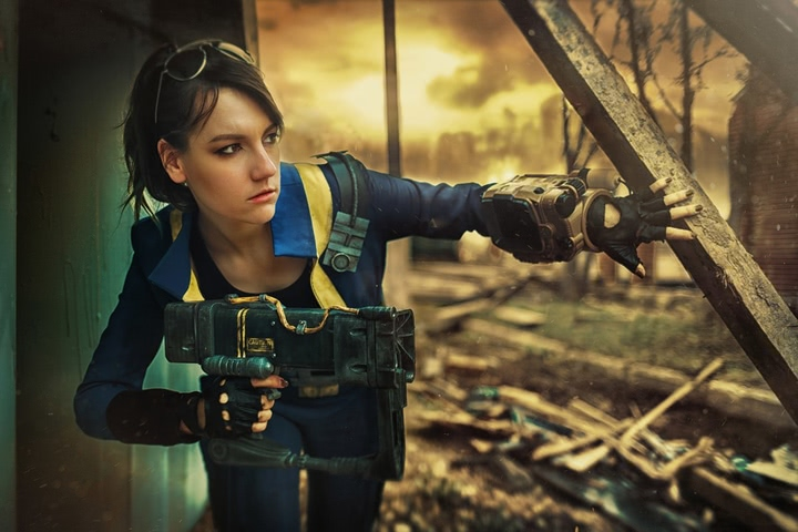 Fallout dweller by Amiko-chan (Fallout 4) cosplay 13