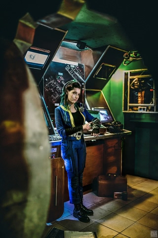 Fallout dweller by Amiko-chan (Fallout 4) cosplay 15