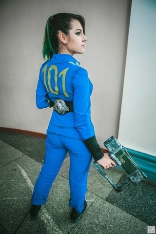 Fallout dweller by Amiko-chan (Fallout 4) cosplay 23