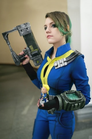 Fallout dweller by Amiko-chan (Fallout 4) cosplay 26