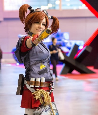 Gaige the Mechromancer by Amiko-chan (Borderlands 2) cosplay 1