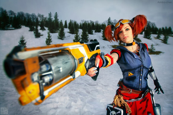 Gaige the Mechromancer by Amiko-chan (Borderlands 2) cosplay 3