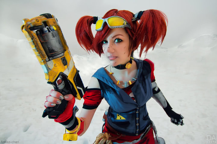 Gaige the Mechromancer by Amiko-chan (Borderlands 2) cosplay 11