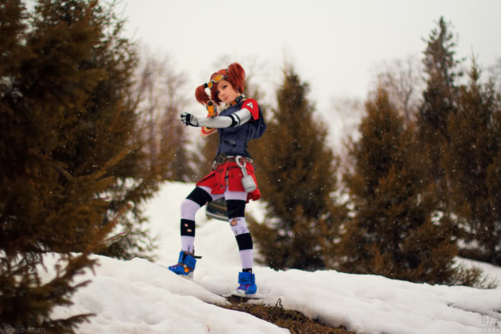 Gaige the Mechromancer by Amiko-chan (Borderlands 2) cosplay 13