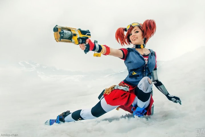 Gaige the Mechromancer by Amiko-chan (Borderlands 2) cosplay 14