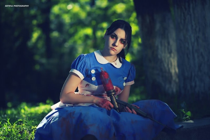 Little sister by Amiko-chan (Bioshock) cosplay 2
