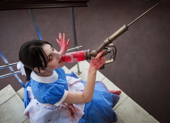 Little sister by Amiko-chan (Bioshock) cosplay 3