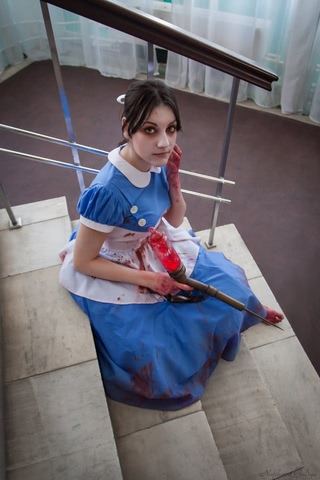 Little sister by Amiko-chan (Bioshock) cosplay 4