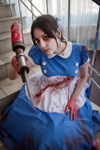 Little sister by Amiko-chan (Bioshock) cosplay 6