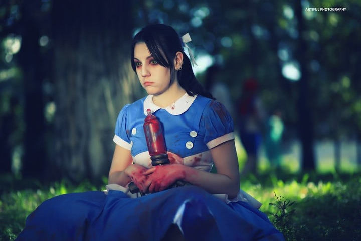 Little sister by Amiko-chan (Bioshock) cosplay 9