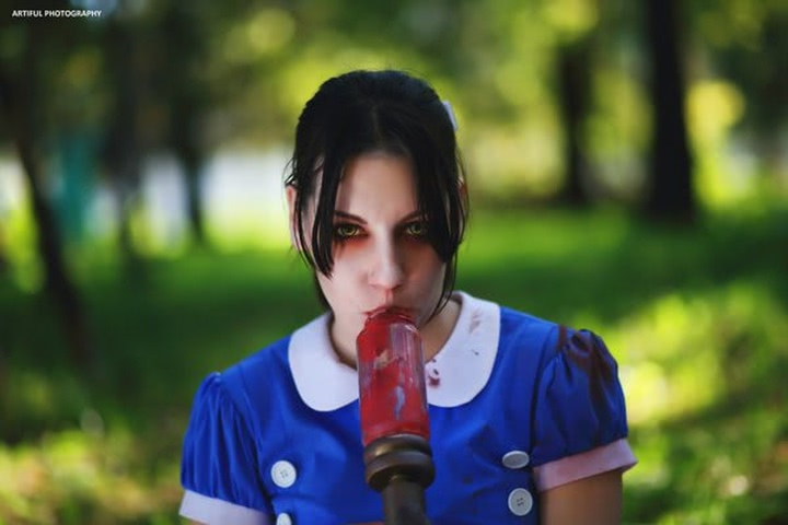 Little sister by Amiko-chan (Bioshock) cosplay 17