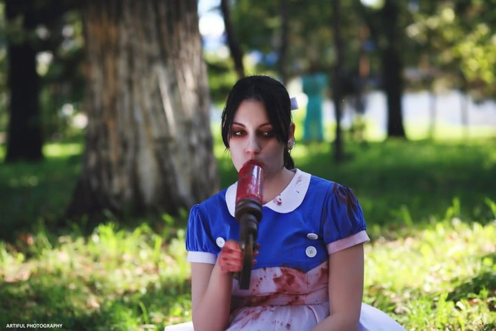 Little sister by Amiko-chan (Bioshock) cosplay 18