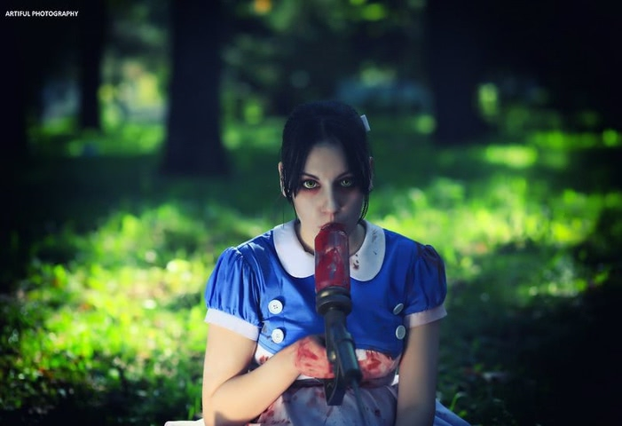 Little sister by Amiko-chan (Bioshock) cosplay 19