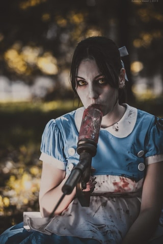 Little sister by Amiko-chan (Bioshock) cosplay 20