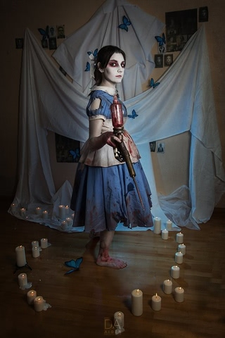 Little sister by Amiko-chan (Bioshock) cosplay 24