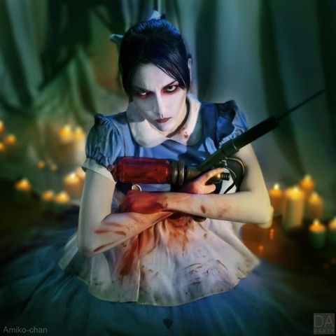 Little sister by Amiko-chan (Bioshock) cosplay 26