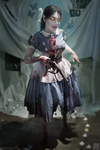 Little sister by Amiko-chan (Bioshock) cosplay 29