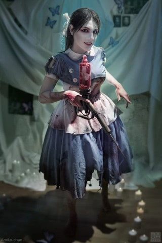 Little sister by Amiko-chan (Bioshock) cosplay 30