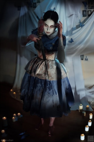 Little sister by Amiko-chan (Bioshock) cosplay 33