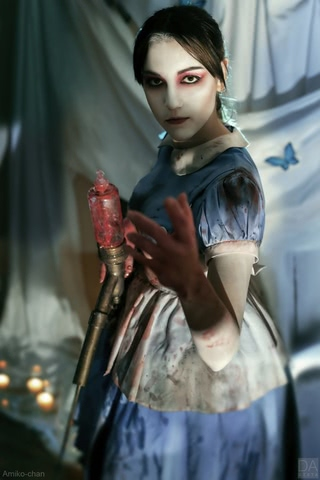 Little sister by Amiko-chan (Bioshock) cosplay 35