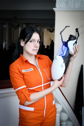 Chell by Amiko-chan (Portal 2) cosplay 12