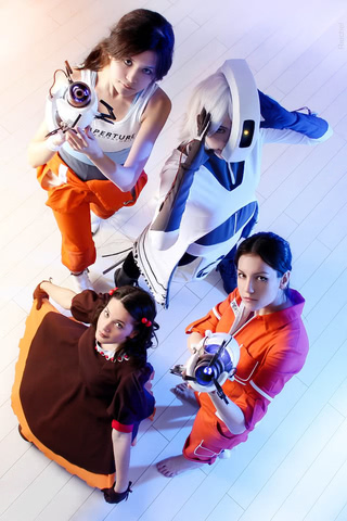 Chell by Amiko-chan (Portal 2) cosplay 17