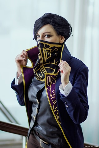 Emily Kaldwin by Amiko-chan (Dishonored) cosplay 19