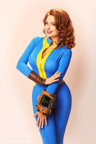 dweller by Candy (Fallout 4) cosplay 2
