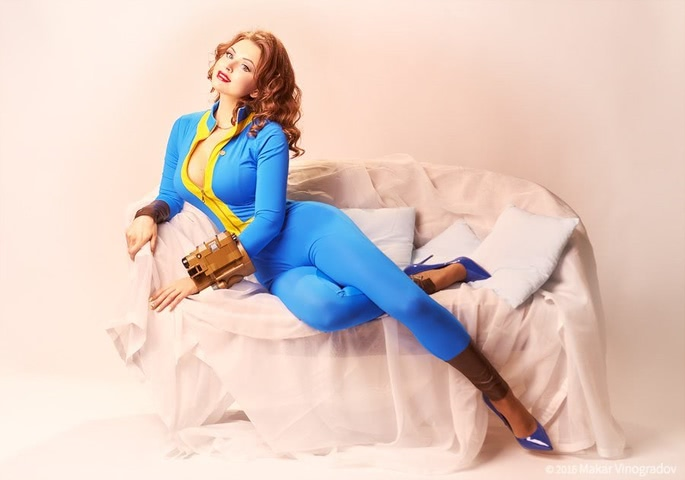dweller by Candy (Fallout 4) cosplay 3