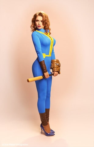 dweller by Candy (Fallout 4) cosplay 7