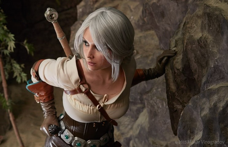 Ciri by Candy (Witcher 3) cosplay 2