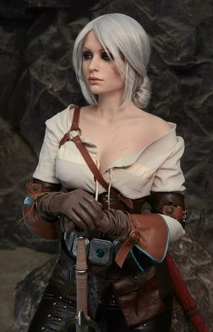 Ciri by Candy (Witcher 3) cosplay 3