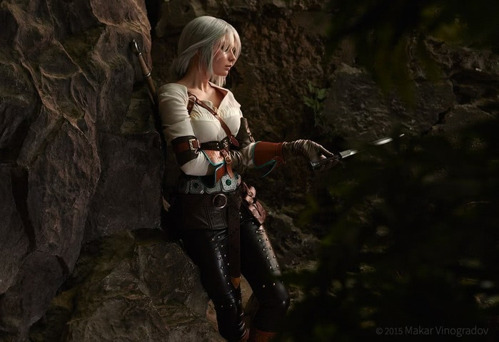 Ciri by Candy (Witcher 3) cosplay 5