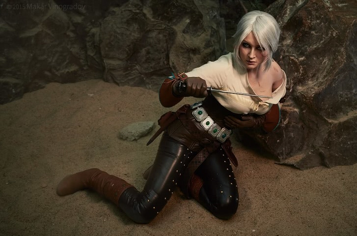 Ciri by Candy (Witcher 3) cosplay 9