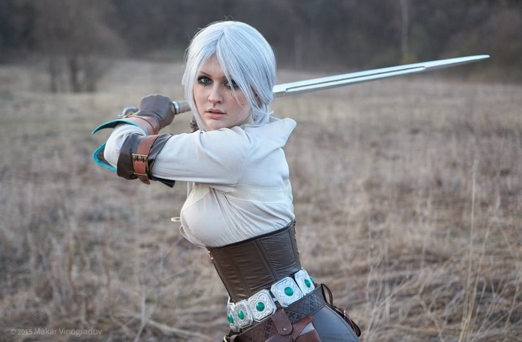 Ciri by Candy (Witcher 3) cosplay 10