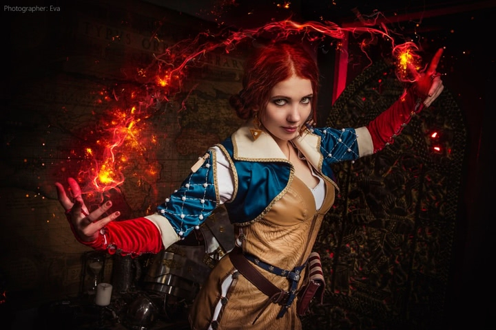 Triss by ir_mia (Witcher 3) cosplay 1