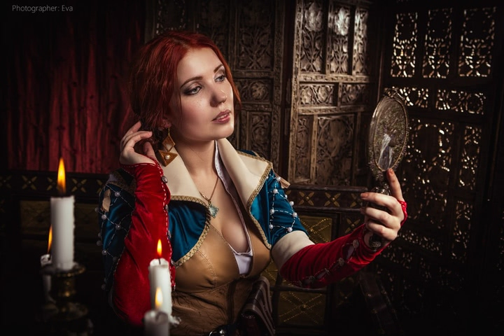 Triss by ir_mia (Witcher 3) cosplay 3