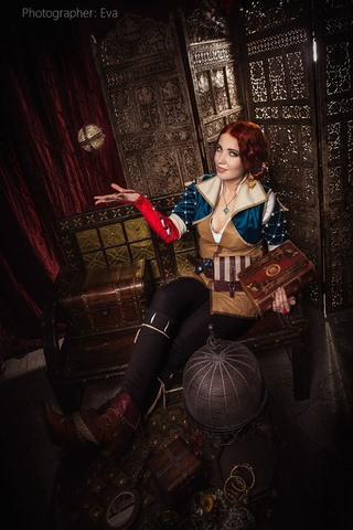 Triss by ir_mia (Witcher 3) cosplay 4