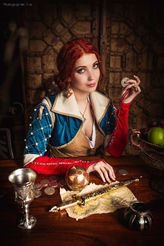 Triss by ir_mia (Witcher 3) cosplay 6