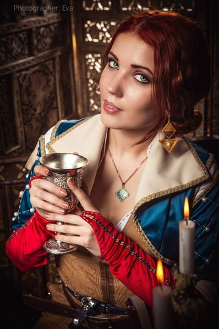 Triss by ir_mia (Witcher 3) cosplay 7