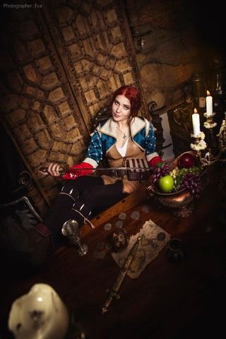 Triss by ir_mia (Witcher 3) cosplay 8