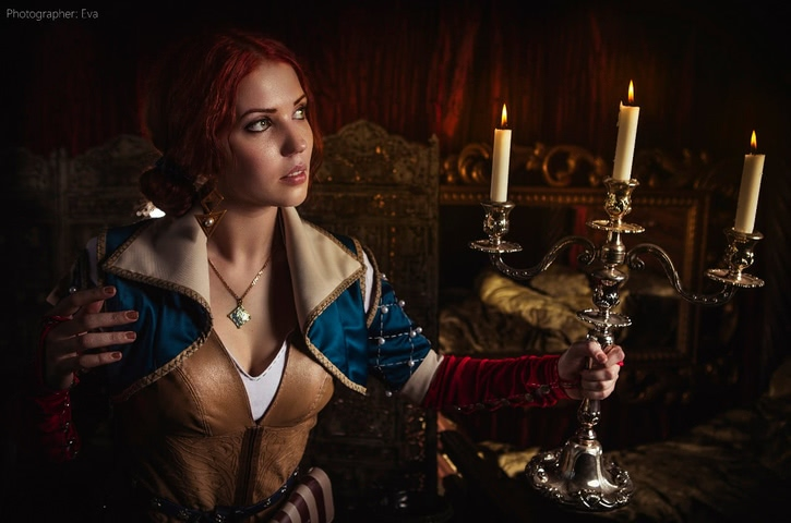 Triss by ir_mia (Witcher 3) cosplay 9