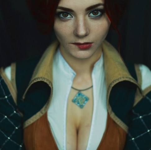 Triss by mellu (Witcher 3) cosplay 4