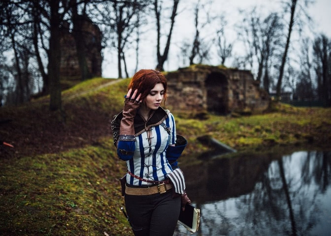 Triss by mellu (Witcher 3) cosplay 7