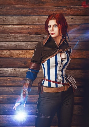Triss by mellu (Witcher 3) cosplay 10