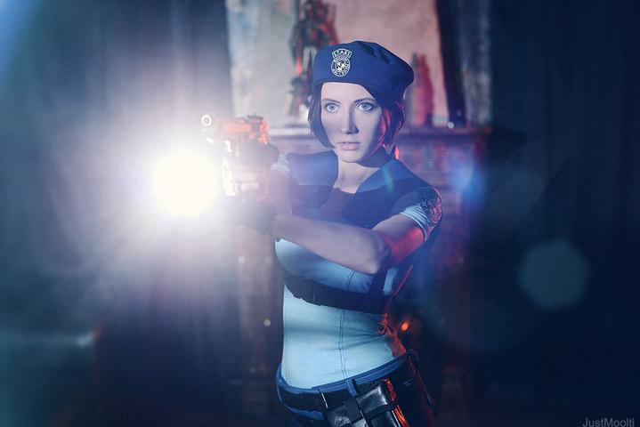 Jill Valentine by Narga-Lifestream (Resident Evil 1) cosplay 4