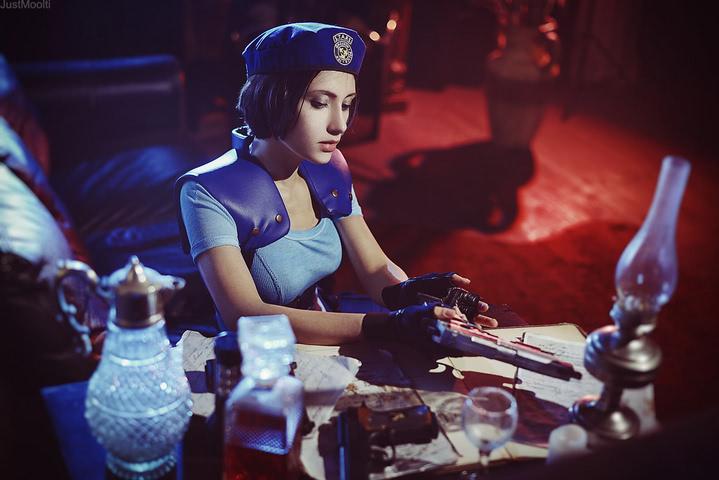 Jill Valentine by Narga-Lifestream (Resident Evil 1) cosplay 7
