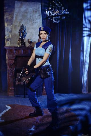 Jill Valentine by Narga-Lifestream (Resident Evil 1) cosplay 8
