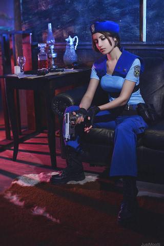 Jill Valentine by Narga-Lifestream (Resident Evil 1) cosplay 9