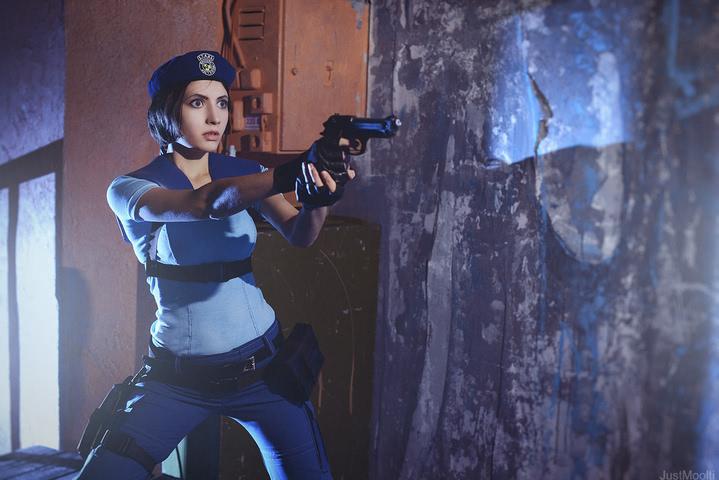 Jill Valentine by Narga-Lifestream (Resident Evil 1) cosplay 10
